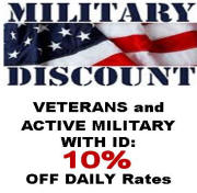 Lucky Dog offers our brave veterans with a 10% discount!
