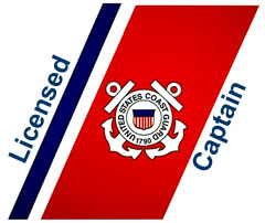 United States Coast Guard Licensed Captain Brandon Jacobson